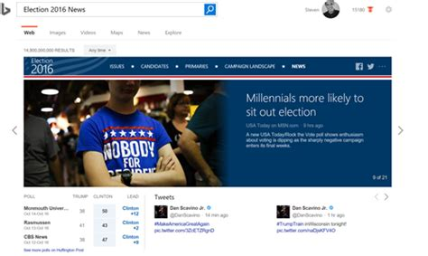 Use Bings Campaign Landscape Before You Vote Bing