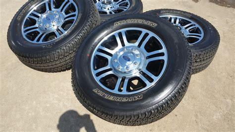 ford      black  machined oem wheels