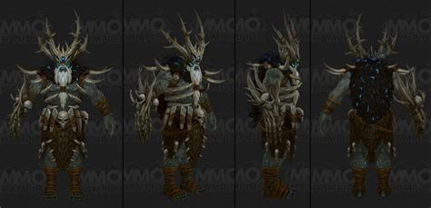 New Zandalari Druid Treant Form Worldofwarcraft
