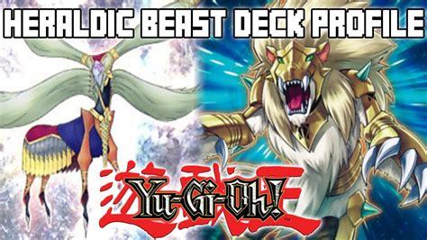yugioh heraldic beast deck profile december 2013