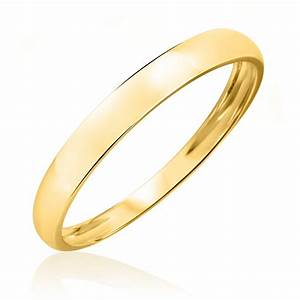 men39s wedding band 10k yellow gold my trio rings With 10k gold wedding ring