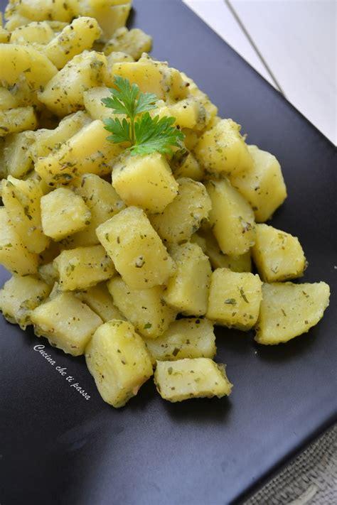 Patate aromatiche in padella   Cucina che ti passa