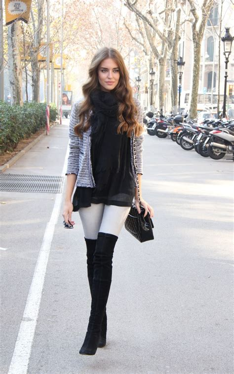 35 Styles to Wear Over the Knee Boots For this Fall 2016 - Fashion Craze