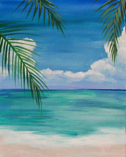 Beach Easy Painting Paint Party Mr