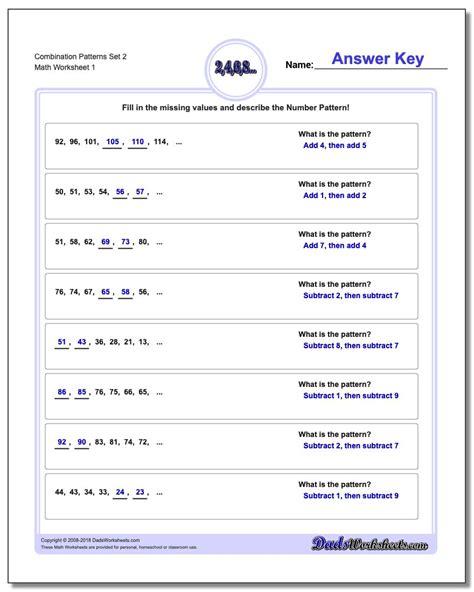 Math Combinations Third Grade Worksheets  Math Charts And Pokemon On Pinterestmath Worksheets