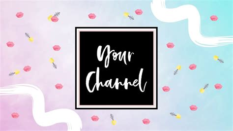 ombre beauty guru makeup channel youtube intro template