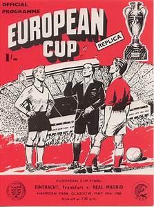 Champions League / European Cup : Cup Final Programmes ...