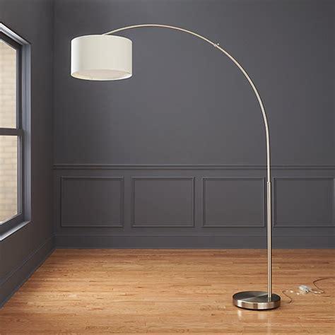 big dipper silver arc floor lamp cb