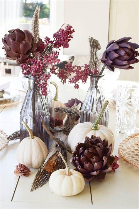 Herbstliche Dekorationen Für Den Tisch by Die Besten 25 Herbstliche Tischdeko Ideen Auf