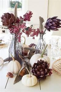 Herbst Dekoration Tisch : die besten 25 herbstliche tischdeko ideen auf pinterest herbstliche deko deko herbst und ~ Frokenaadalensverden.com Haus und Dekorationen