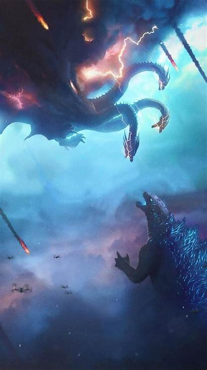 Godzilla Monsters King Cool Phone Io Wallpapers
