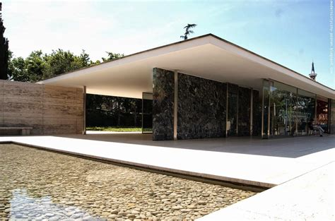 Mies Der Rohe Barcelona Pavillon by Mies Der Rohe Barcelona Pavillon Panoramio Photo Of
