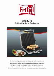 Fritel Gr 2275 Grill Download Manual For Free Now