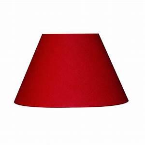 Abat Jour Rouge : abat jour sweet 50 cm toiline rouge rouge n 5 inspire leroy merlin ~ Teatrodelosmanantiales.com Idées de Décoration