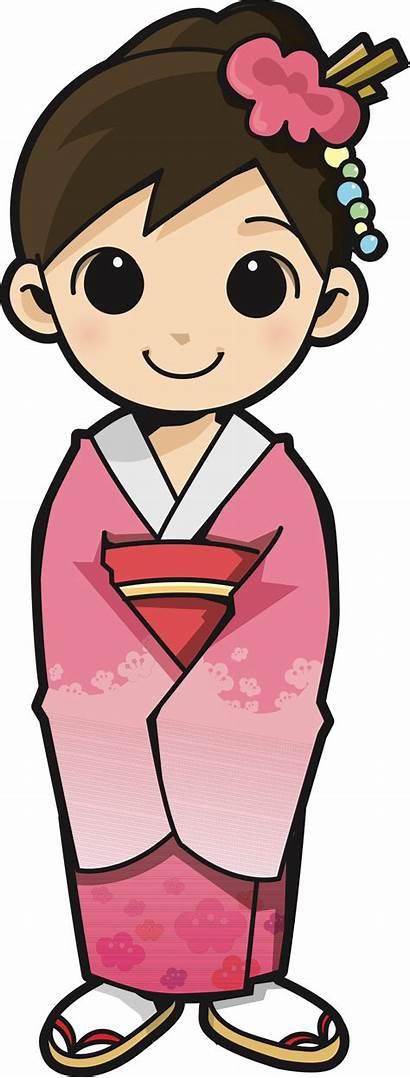Japanese Kimono Clipart Transparent Clip Clipground Cliparts