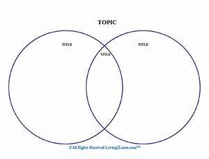 Graphic Organizers  Printable Venn Diagram  U0026 Learn Along Video