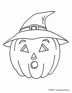 Citrouille Halloween Dessin : dessin coloriage halloween citrouille 55 dans coloriages ~ Melissatoandfro.com Idées de Décoration