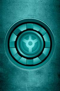 Iron Man Teal Lantern Arc Reactor background by KalEl7 on ...