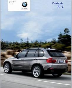 2007 Bmw X5 3 0si Owners Manual