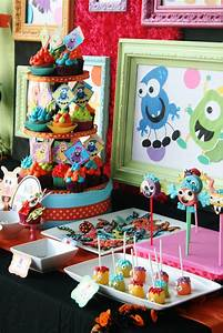 Kara, U0026, 39, S, Party, Ideas, Colorful, Monster, Bash, Party