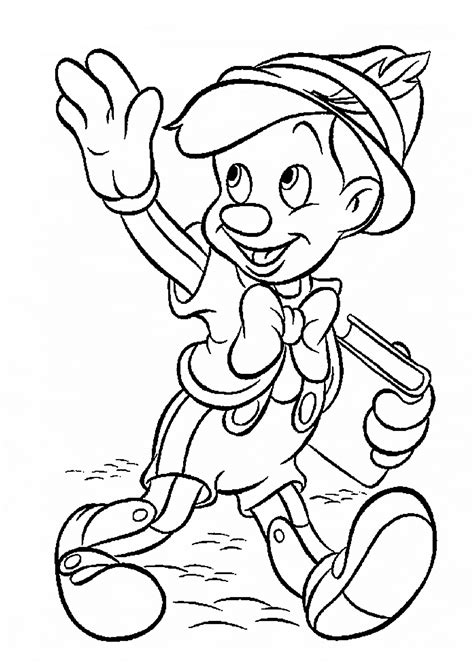 kids coloring pages disney characters coloring home