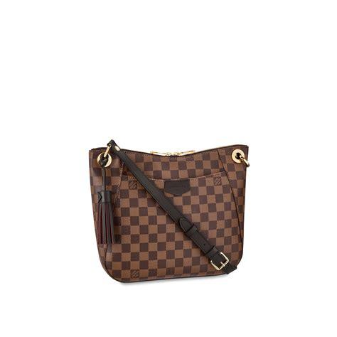 damier ebene canvas handbag south bank besace louis vuitton