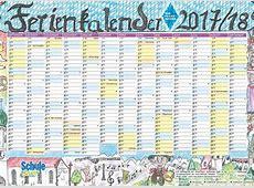 Der Ferienkalender 201718 ist da!