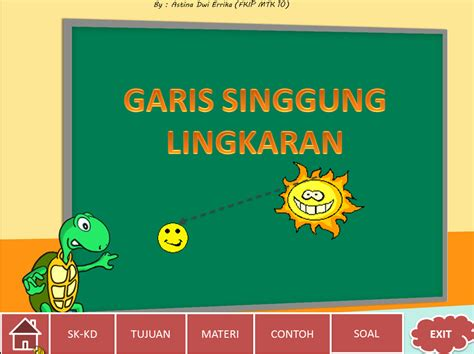 ms powerpoint  tampilan menu pop  sebagai media