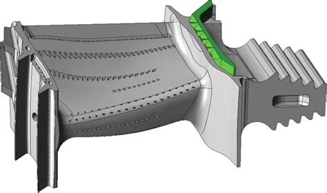 Where Does Turbine Vane And Blade Cooling Air
