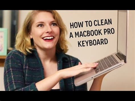 how to clean a macbook pro keyboard