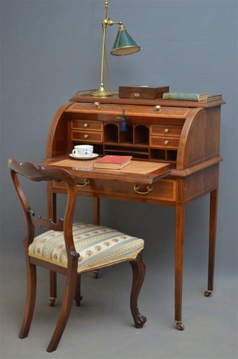 bureau desk uk edwardian bureau writing desk antiques atlas