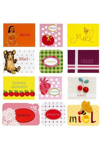 17 best images about etiquettes confitures on gift tags strawberry jam and