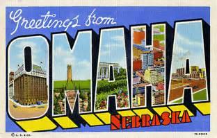 Omaha Nebraska Postcard