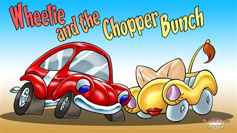 Wheelie And The Chopper Bunch By Nicklaw-artes On Deviantart