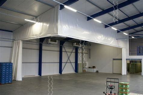 sound dening curtains industrial vlp flexibele afscheidingen