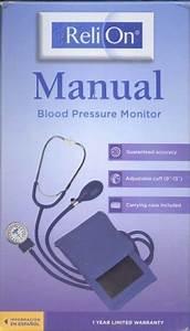 Reli On Manual Blood Pressure Monitor