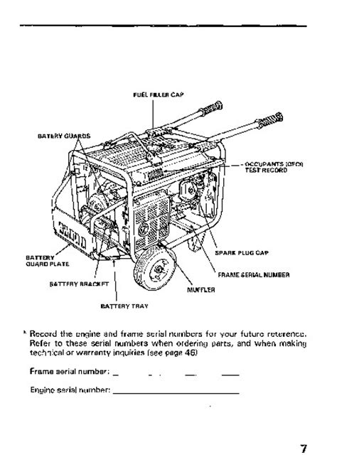 Honda Em6500sx Generator Wiring Schematic by Eb6500 Honda Generator Wiring Diagram Auto Electrical