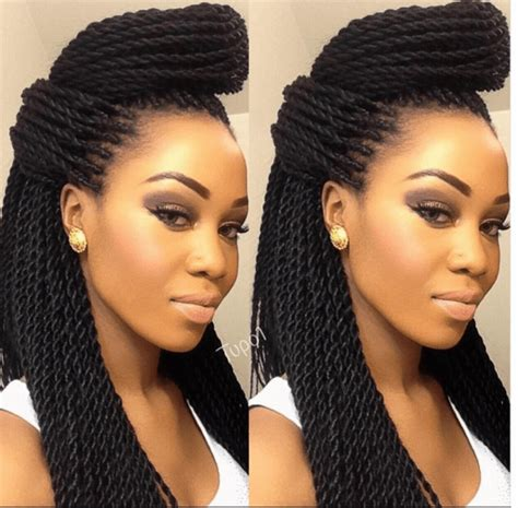 Different Hairstyles For Senegalese Twists by 11 Easy Senegalese Twists Styles Braids
