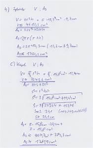 Zylinder Volumen Berechnen : volumen und oberfl che von prisma zylinder und kegel mathelounge ~ Themetempest.com Abrechnung