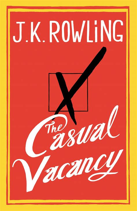 Book Review 'the Casual Vacancy' By J K Rowling The