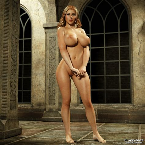 Blackadder Erotic 3d Art Skyla