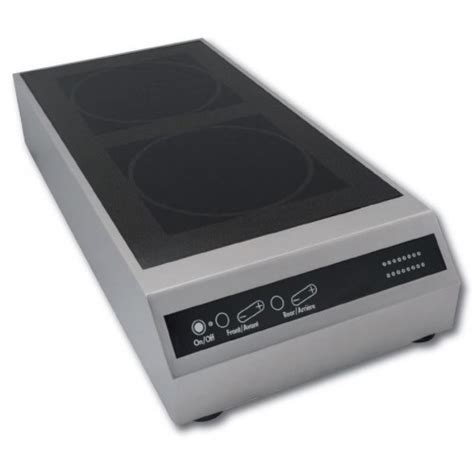 plaque induction posable plaque induction triphas 233 posable avec bandeau 224 touches sensitives 2 foyers 10000 w