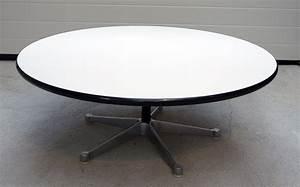 Vitra Tisch Rund : vitra charles eames tisch rund wei hermann miller george ~ Michelbontemps.com Haus und Dekorationen
