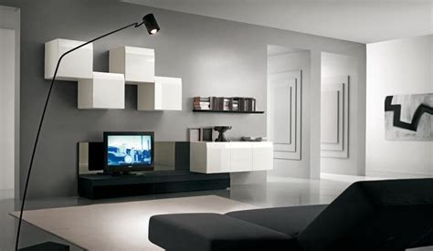 wohnzimmer farben wand modern tv wall units