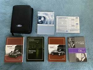 2011 Ford Fusion Owners Manual Set   Sync Book  U0026 Ford Case