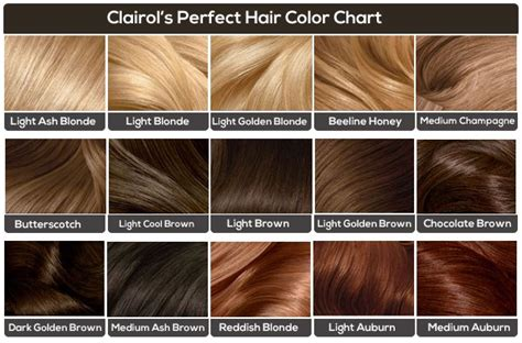 Hair Color Shades Of Chart by Light Brown Hair The Ultimate Light Brown Colors Guide