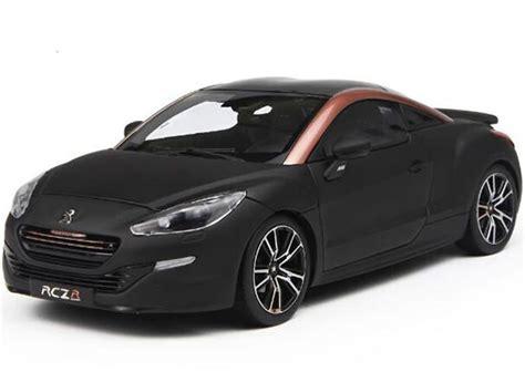 peugeot rcz black black 1 18 scale norev diecast peugeot rcz r concept model