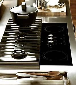 Plaque De Cuisson Gaz Induction : table de cuisson mixte gaz induction uprod ~ Melissatoandfro.com Idées de Décoration