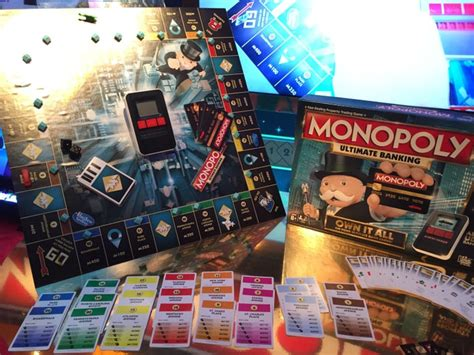 monopoly ultimate banking    brand  toys