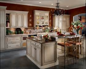 kitchen island antique kraftmaid cabinets authorized dealer designer cabinets
